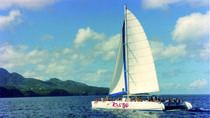 St Lucia Full-Day Catamaran Sightseeing Cruise With Snorkeling, St Lucia, Private Sightseeing Tours