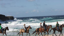 Aruba Shore Excursion: Natural Pool Swim Horseback Riding, Aruba, Southern Caribbean Shore ...