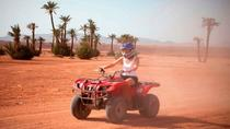 Half day quad biking safari in Palmerai and Desert, Marrakech, 4WD, ATV & Off-Road Tours