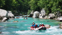 Whitewater Rafting On The Soca River, Bovec, White Water Rafting