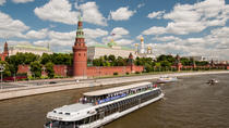 3 hour Cruise with Private Guide and Russian lunch onboard, Moscow, Private Sightseeing Tours
