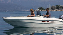 Boat Rental up to 4 People in Menton - No License Required, Menton, Boat Rental