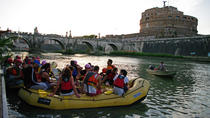 Sightseeingtour over de rivier de Tiber in Fun Eco Boats in het stadscentrum, Rome, Natuurreizen