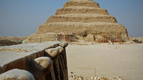 A full day tour to all pyramids of Giza,Sakkara and Memphis with an Egyptologist guide, Cairo,...