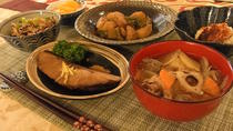 Authentic Japanese lunch with optional kimono dressing in a family home in Tokyo, Tokyo, Dining...
