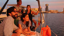 Sunset Sailing Experience from Port Vell in Barcelona with Optional Spanish Guitar , Barcelona, ...