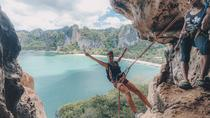 Full-Day Private Rock Climbing at Railay Beach in Krabi, Krabi, Climbing