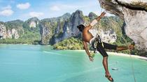 Half Day Rock Climbing Tours at Railay Beach in Krabi, Krabi, Climbing