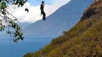 Stand Up Paddle Board or Kayak and Extreme Zipline Adventure from Panajachel, Panajachel, Ziplines