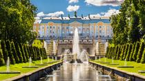 St. Petersburg Private Tour: Peterhof Palace and Fountains by Hydrofoil with Skip-the-Line Tickets,...