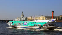 Private Shore Day Trip: City Tour and Cruise to Peterhof Fountain Complex with Champagne and ...