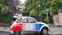 Off the Beaten Track Paris tour in 2CV, Paris, Private Sightseeing Tours