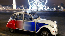 Paris and Montmartre by Night Tour in a 2CV, Paris, Private Sightseeing Tours