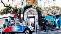 Paris Classic tour in 2CV, Paris, Private Sightseeing Tours