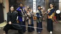 Samurai Swordsmanship and Shuriken Experience, Tokyo, Martial Arts Classes