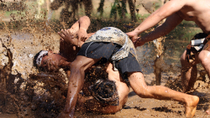 Mepantigan Balinese Wrestling Game, Ubud, Martial Arts Classes