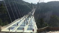 Private Day Tour of Tianmen Mountain Sky Walk And Zhangjiajie Grand Canyon Glass Bridge,...