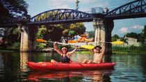 Full-Day Kayaking and Cycling Trip from Kanchanaburi Including Death Railway, Kanchanaburi,...