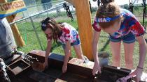 Gem Mining at Egg Harbor Fun Park, Wisconsin, Kid Friendly Tours & Activities