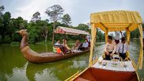 Angkor Gondola Cruise with Champagne and Canapes, Siem Reap, Sunset Cruises