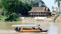 Half-Day Boat Trip on Mae Ping River from Chiang Mai Including Khao Soi Noodle at Farmer House, ...
