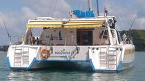 3-Days Overnight CABIN Charter Skippered and Crewed Catamaran, サムイ島