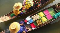 Private Tour: Damnoen Saduak Floating Market and Bangkok City Temples, Bangkok, Half-day Tours