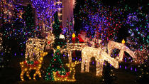 Christmas Lights Walking Tour of Dyker Heights Brooklyn, New York City, null