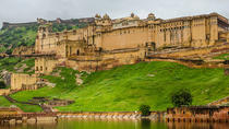 Private Jaipur Sightseeing by Day and Night with Traditional Indian Home Dinner, Jaipur, null