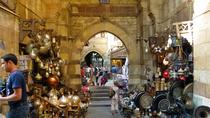 Egyptian Highlights: Museum Alabaster Mosque Hanging Church and Khan Bazaar from Cairo, Cairo, ...