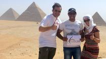 Great Pyramids of Giza, Saqqara and Memphis Private Day Tour, Cairo, Private Sightseeing Tours