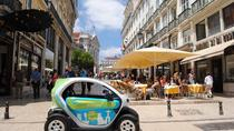 Electric Car with GPS Audio Guide - Downtown Lisbon, Lisbon, Vespa, Scooter & Moped Tours
