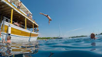 Boat Picnic Excursion to Blue Lagoon and Three Islands, Split, Day Cruises