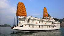 Overnight Halong Bay Cruise Including Transfer Service and Kayaking or Bamboo Boat Activities, ...
