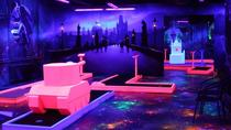 Prague Black Light Mini Golf Admission Ticket, Prague