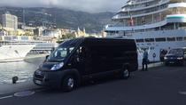 Cannes shore excursion on board a maxi van for larger groups, Cannes, Bus & Minivan Tours