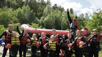 Family Rafting Experience on River Otta, Central Norway, White Water Rafting & Float Trips