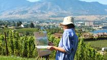Painting Class Experience at Okanagan Vineyard with Optional Lunch and Winery Tour, Kelowna &...