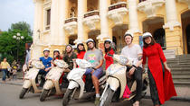 Half-Day Hanoi City Tour by Scooter, Hanoi, Vespa, Scooter & Moped Tours