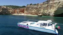 Catamaran BBQ on the beach Trip to Benagil Caves, Albufeira, Catamaran Cruises