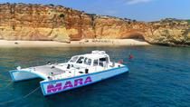 Catamaran BBQ on the beach Trip to Benagil Caves, Albufeira, Catamaran Cruises