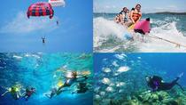 Cosmo WaterSportTour: Water Blow, Parasailing, Banana Boat, Tubing Ride, Uluwatu, Bali, Tubing