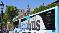 Aerobus Official Shuttle Barcelona Airport To City Center, Barcelona