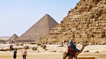 Day Tour to Cairo from Hurghada by Air Giza Pyramid and Sphinx and Museum, Hurghada