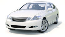Transfer in private car from New York City Manhattan to John F Kennedy Airport, New York City,...