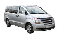 Transfer in private minivan from New York City Manhattan to J F Kennedy Airport, New York City, Bus...