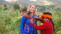 Private Tour: Pisac, Ollantaytambo and Amaru Community Visit, Cusco, Private Sightseeing Tours