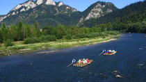 Rafting the Dunajec River Gorge in Southern Poland, Krakow, null
