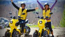 Explore the Unexplored: Exploration Game on Electric Three-Wheeled Scooters, Mont Tremblant,...