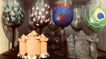 Wine Glass Painting, Rehoboth Beach, Painting Classes